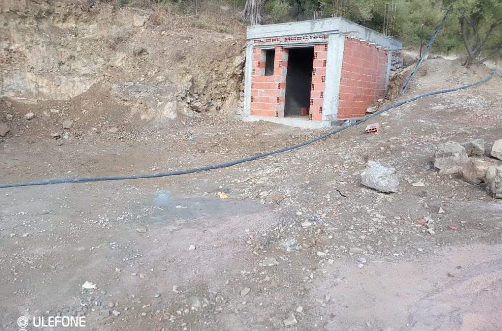 Les travaux du projet des puits d'eau avancent aussi à grand pas.